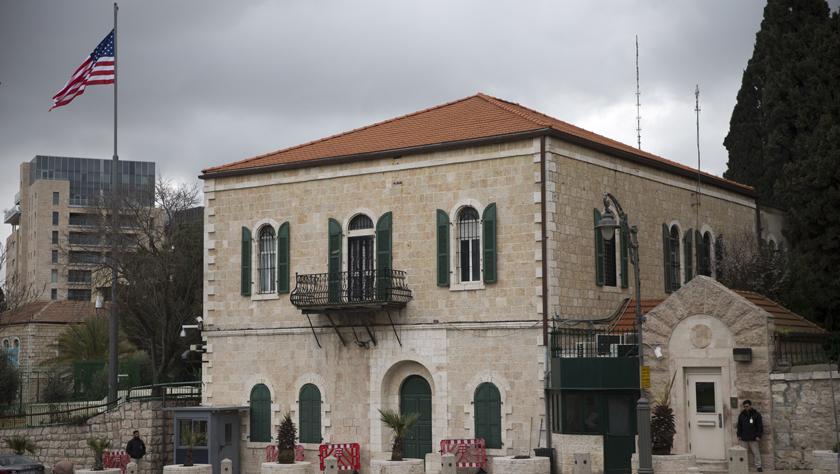 美国正式将负责巴勒斯坦事务的机构并入驻以使馆