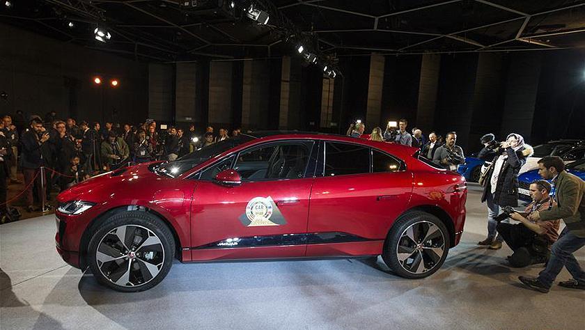 捷豹I-PACE获评2019欧洲年度车