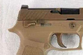 美空军开始配发M18型手枪
