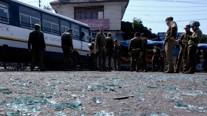 印控克什米尔发生手榴弹袭击事件