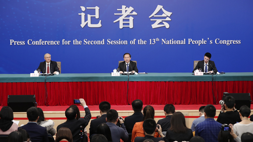 """生态环境部部长李干杰就""""打好污染防治攻坚战""""答记者问"""