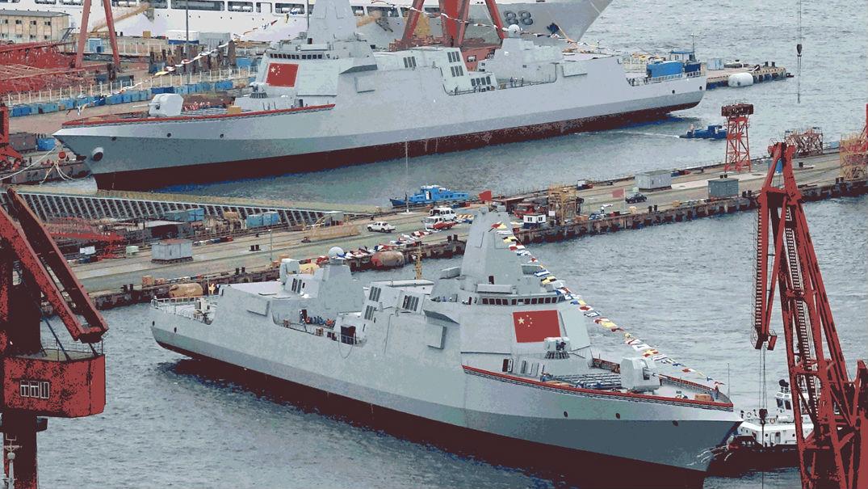 俄媒:中国正在打造强大驱逐舰编队