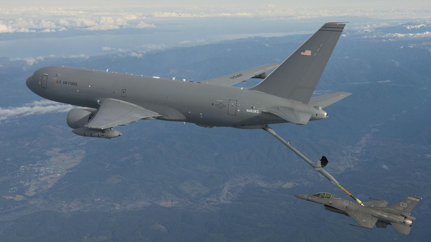 机内曾现碎片!美军KC-46A加油机交付一度被叫停
