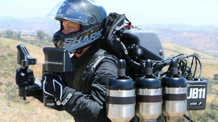 """最高时速193公里!美特种部队将测试""""飞行背包"""""""