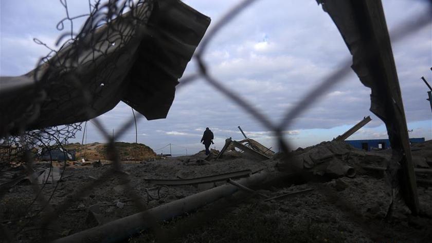 以色列向加沙发动多轮空袭