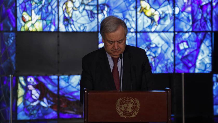 联合国举行仪式悼念埃塞空难遇难工作人员