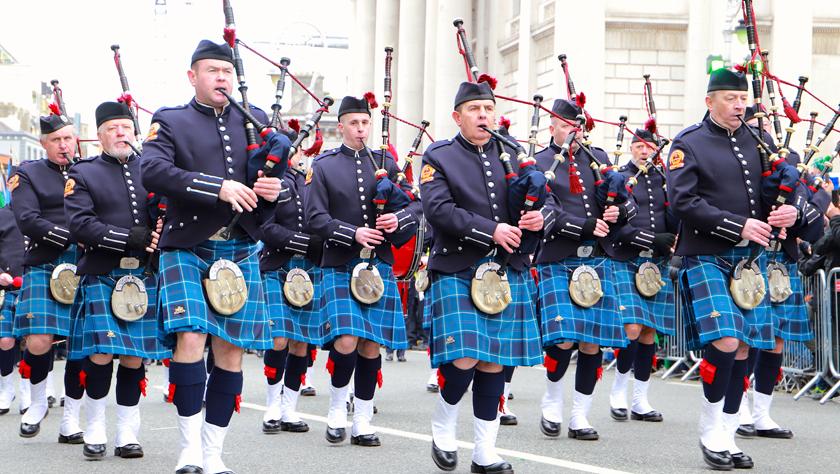 都柏林庆祝圣帕特里克节
