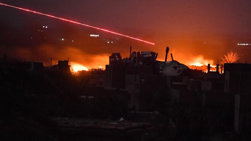 叙利亚媒体:国际联盟轰炸叙东部致10名平民死亡