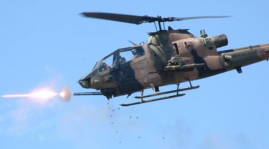 曾击落3架米格21!美AH-1武直秀大杀器