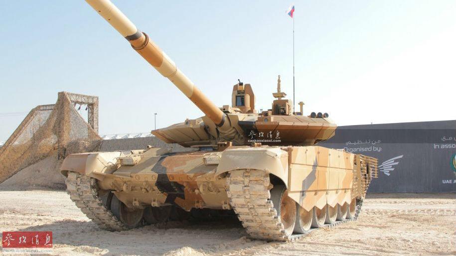 俄拟研发无人版T-90坦克