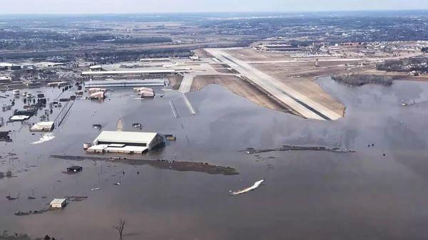 美国战略司令部所在地被洪水淹没 重要设施或受损
