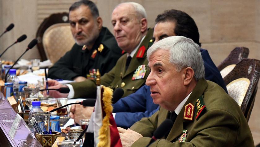 叙利亚、伊朗、伊拉克三国军方官员举行会晤