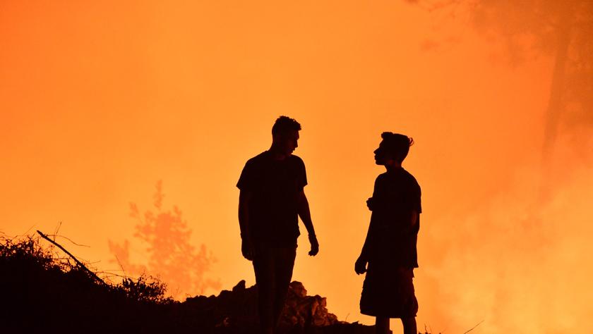 洪都拉斯发生森林火灾
