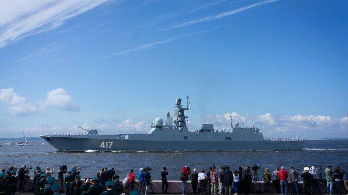 俄着手研制大型护卫舰:排水量达7000吨 配备高超音速导弹