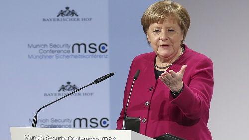 """不需要任何人的建议!德国?#36130;?#25298;绝美国""""讹诈"""""""