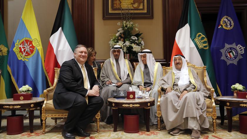 美国务卿访问科威特