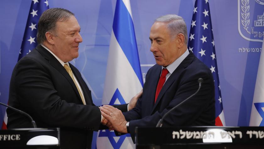 蓬佩奥访问以色列商讨进一步遏制伊朗