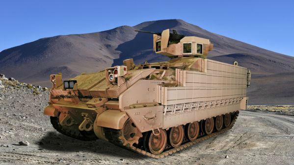 美军新型装甲车即将投入使用:未来预计装备2897辆