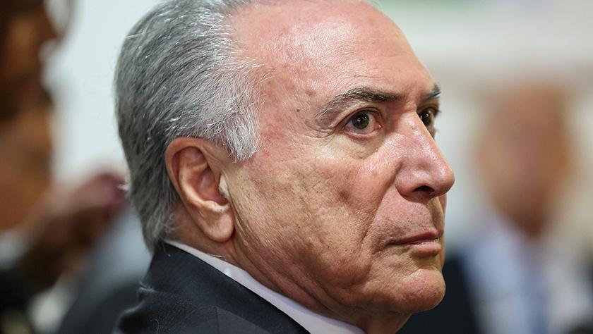 巴西前总统特梅尔因涉嫌贪腐被捕