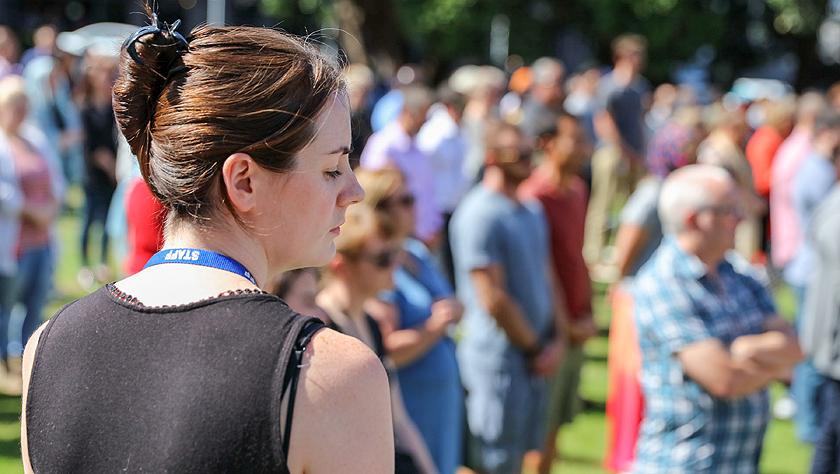 新西兰为克赖斯特彻奇枪击案罹难者举行悼念仪式
