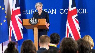 梅姨撑不住了?英媒称首相渐失脱欧控制权