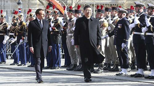 境外媒体:中法元首升级两国伙伴关系