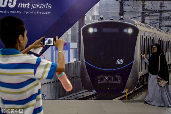 筹备了34年 印尼第一条地铁终于开通