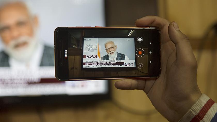 莫迪称印度反卫星导弹试验成功