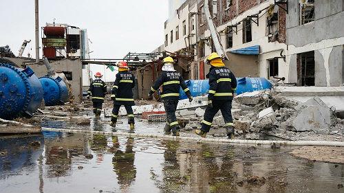 中国吸取响水爆炸事故教训 开展安全生产执法检查