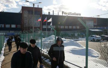 关厂裁员 福特撤离俄罗斯市场