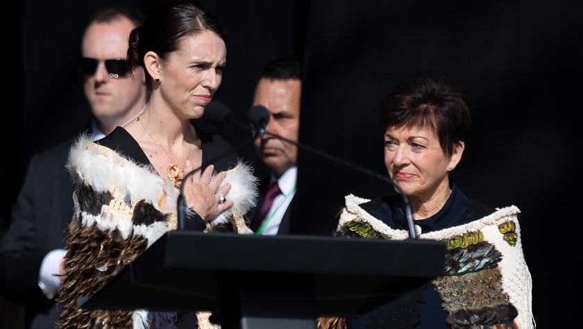 新西兰在严密安保措施下举行国家悼念仪式