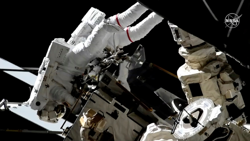 美宇航员完成今年第二次太空行走
