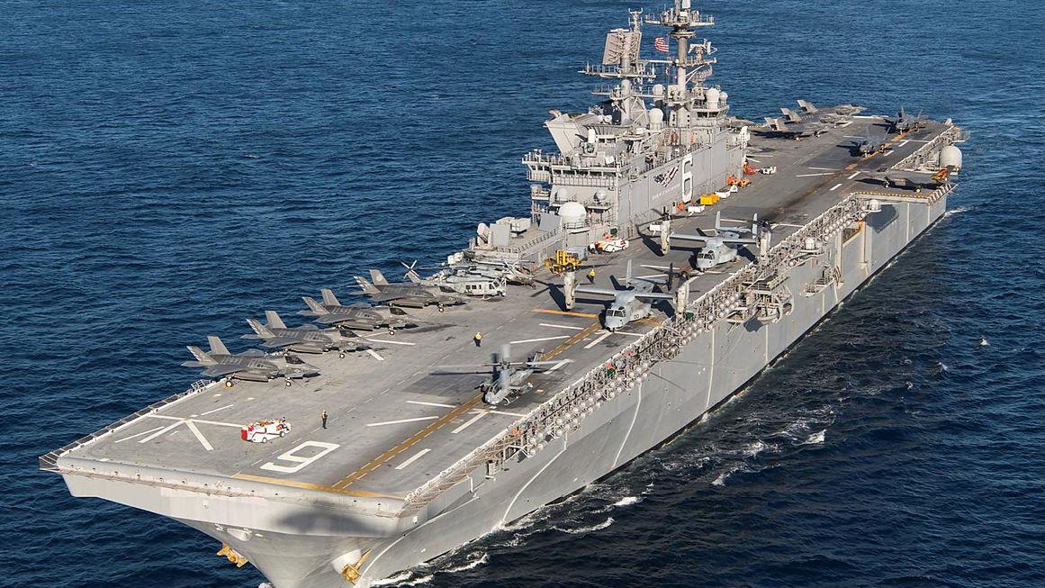 """美军拟在日本部署新两栖舰 当地民众忧""""卷入战争"""""""