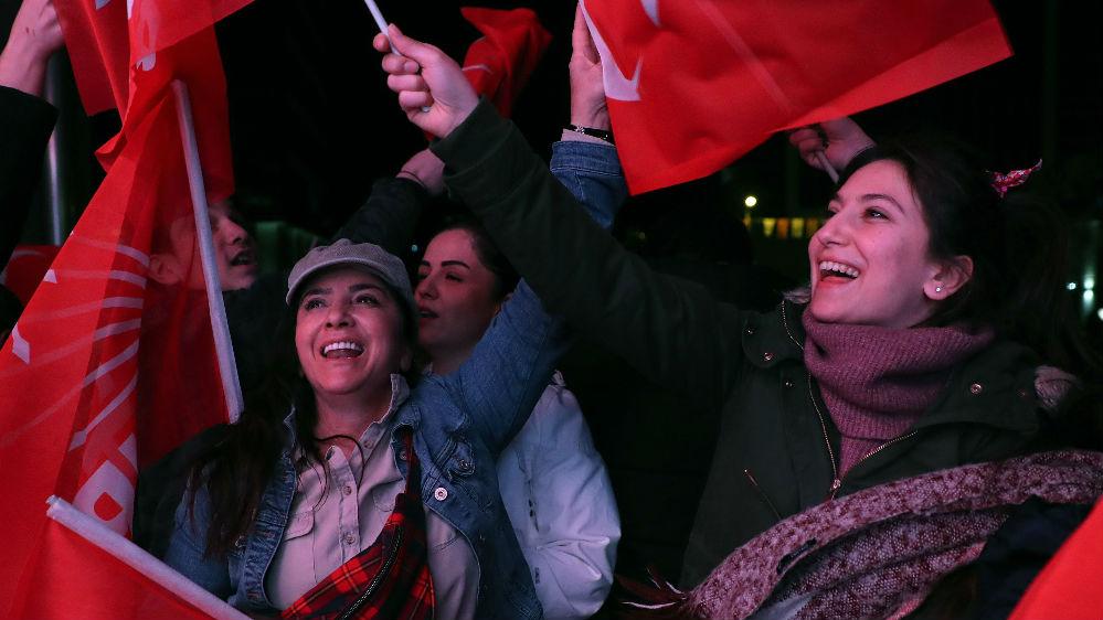 埃尔多安在土耳其地方选举遭重创 外媒:选民不满经济衰退