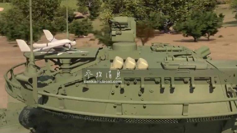 美军为装甲车安装激光武器 无人机引导激光炮攻击