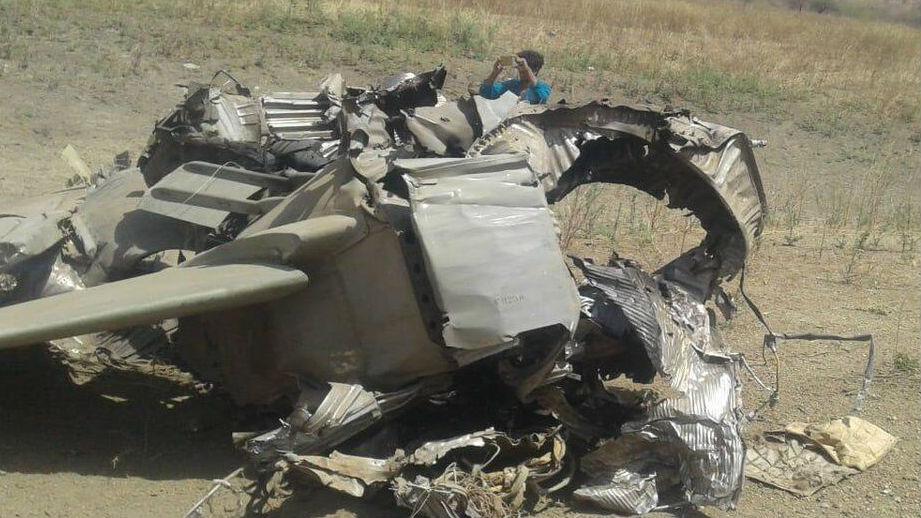 印度空军又一架米格-27坠毁 飞行员弹射逃生