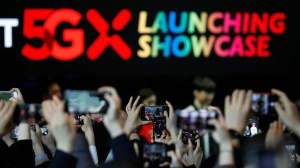 外媒:韓國推出民用5G服務領跑全球
