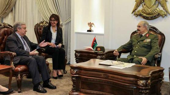 境外媒体:利比亚东部武装直逼的黎波里 战事升级惊动联合国