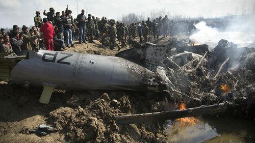 印坚称击落巴F-16恐遭打脸:美方清点发现一架没少