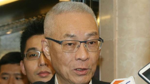吴敦义表态不参加台领导人选举:只负责推举最有胜利机会的人
