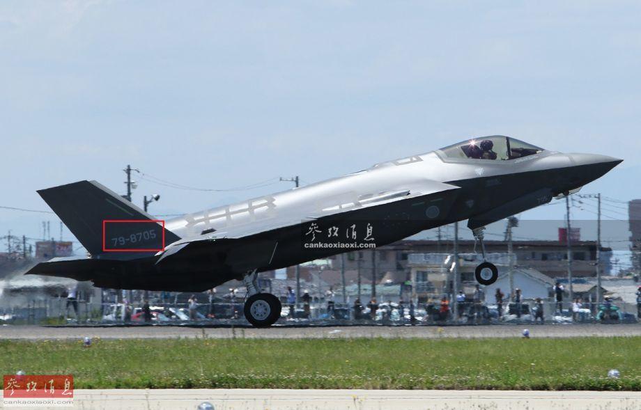 """据日本防卫省报道,4月9日晚7点27分,日本空自一架F-35A隐身战机在青森市东北约135千米海面附近从雷达屏幕上消失。 4月10日,日本防卫大臣岩屋毅表示,搜救队已在青森县附近海面发现F-35A的垂尾残骸,可确定战机已坠毁。这是日本损失的首架F-35战机,同时也是亚洲地区,F-35海外用户中首个损失战机的。图为此次坠毁的F-35战机""""生前遗照""""。38"""