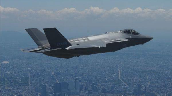 """日本F-35A""""首摔""""引发震动:飞行员事发前曾说""""训练停止"""""""