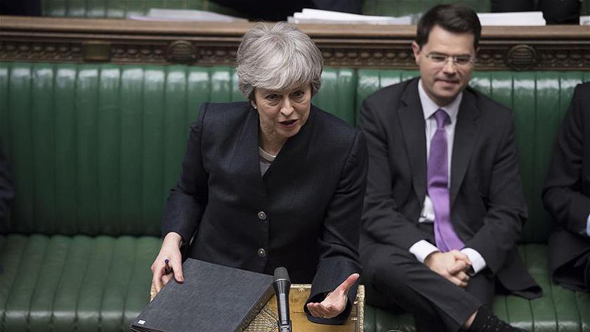 """特雷莎·梅:""""脱欧""""时间将取决于英国议会决定"""