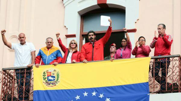 美军方高层首次公开承认:随时准备对委内瑞拉动武