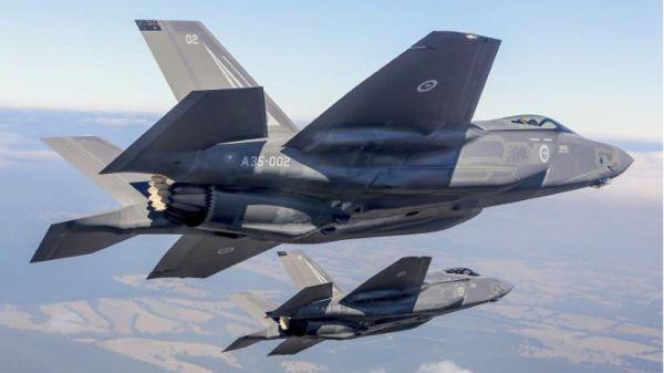 图为F-35战斗机