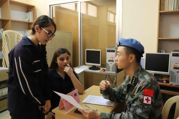 维和医生在黎巴嫩