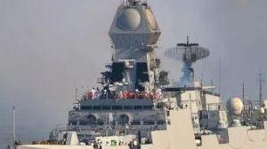 """20年打造""""南亚神盾""""!给中国海军""""庆生""""的印度军舰什么来头"""