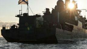 俄海军战舰波罗的海严密跟踪北约海军编队