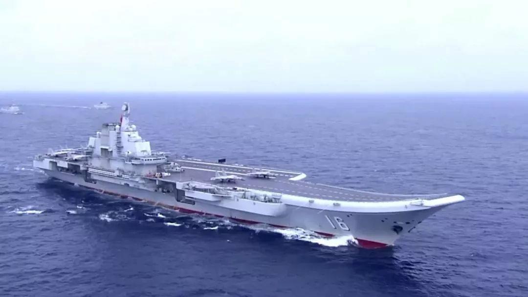 青岛国际阅舰式前中国公布国产航母海试短片引关注