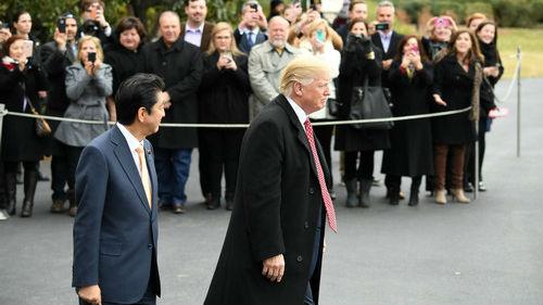 外媒:特朗普将于5月25日访日 成新天皇会见的首位国宾